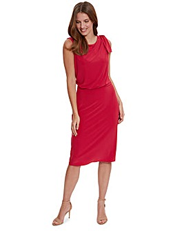Gina Bacconi Estefani Jersey Dress