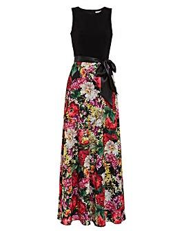 Gina Bacconi Jelina Floral Maxi Dress