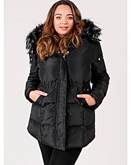 Lovedrobe Black Padded Coat