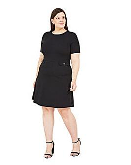 Mela London Curve Pocket Skater Dress