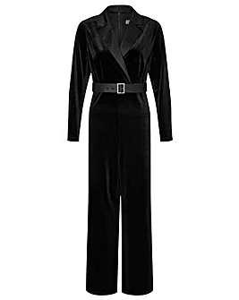 Monsoon Sheena Velvet Jumpsuit