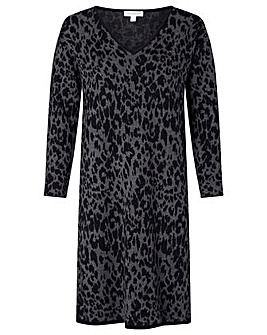 Monsoon Recycled Poly Animal Dress