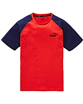 Puma Elevated Essential Raglan Tee