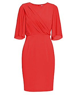 Gina Bacconi Wilhelmina Crepe Dress