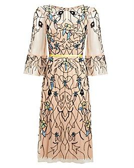 Raishma Nude Dress
