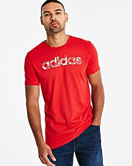 Adidas Linear Camo Tee