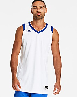 adidas Basketball Sleeveless Jersey