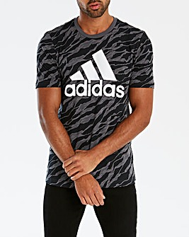Adidas Essential AOP Tee