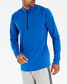 adidas Terrex TraceRo Half Zip Sweatshirt