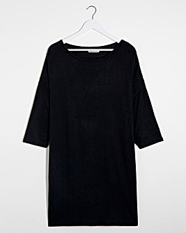 Black Soft Touch Tunic