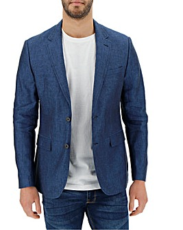 Denim Linen Blazer