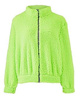 Teddy Fur Zip Jacket