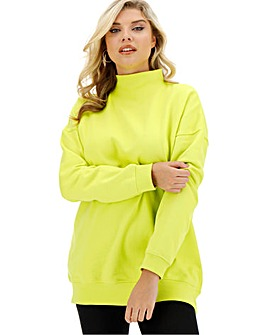High Neck Sweat Tunic