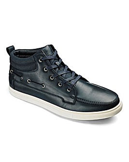 Hi Top Boat Shoes Extra Wide Fit