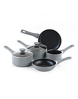 Salter Crystalstone 5 Piece Pan Set