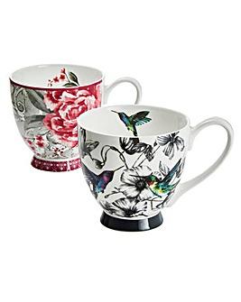 Portobello Set of 2 Sandringham Mugs