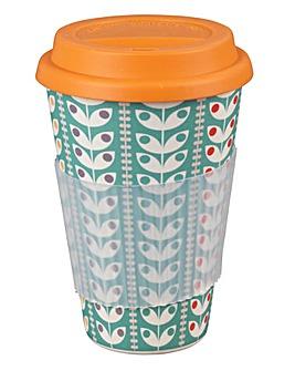 Retro Daisy Travel Mug