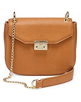 Charlotte Tan Saddle Bag