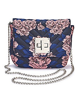 Carrie Floral Mini Quilted Shoulder Bag