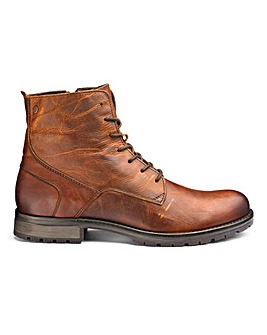 Jack and Jones Worca Leather Boots