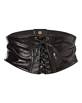 Crackle Corset Waist Belt