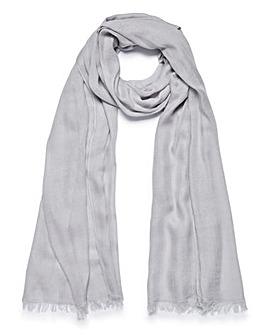 Lightweight Grey Scarf