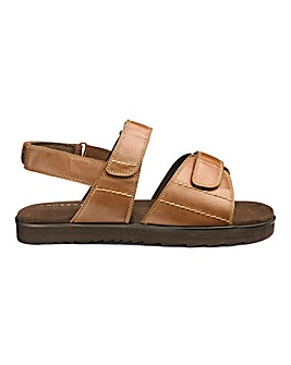 Flex Touch & Close Sandals Extra Wide