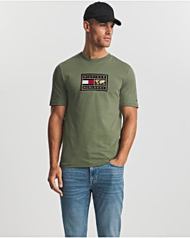 Tommy Hilfiger Icon Earth Badge T-Shirt