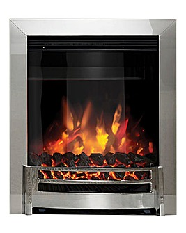 Be Modern Ember Chrome Inset Electric Fire