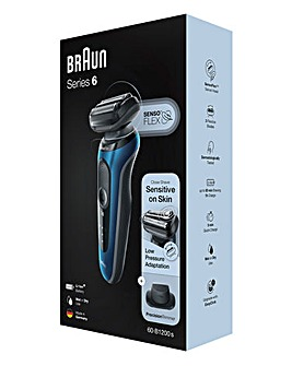 Braun Series 6 B1200 Rechargeable Shaver with Precision Trimmer