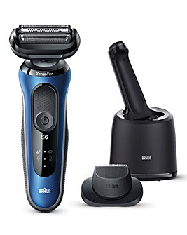 Braun Series 6 B7200 SmartCare Rechargeable Shaver with Precision Trimmer