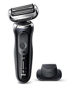 Braun Series 7 N1200 Wet & Dry Rechargeable Shaver with Precision Trimmer