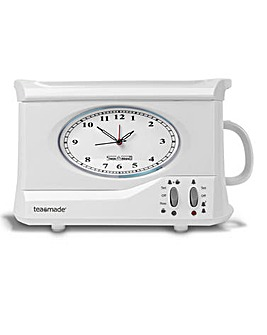 Swan Team Maker Clock Teasmade