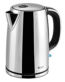 Swan SK14060N 1.7 Litre Polished Stainless Steel Kettle