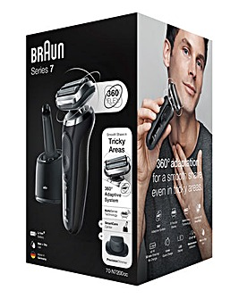Braun Series 7 N7200 Wet & Dry SmartCare Rechargeable Shaver