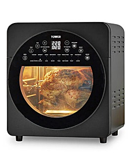 Tower 14.5 Litre Vortx 5 in 1 Digital Fryer Oven with Rotisserie
