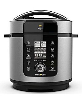 Pressure King Pro by Drew & Cole 24 in 1 6 Litre Cooker