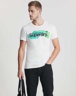 Superdry Short Sleeve Cali Logo T-Shirt