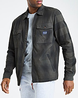 Superdry Ombre Flannel Overshirt