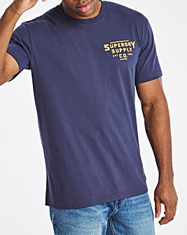 Superdry Heritage Mountain Relax Fit T-Shirt