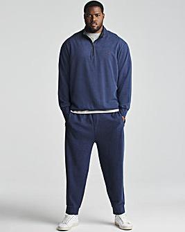Polo Ralph Lauren Navy Double Knit Zip Sweat