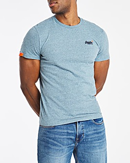 Superdry Vintage Label Embroidered Logo T-Shirt