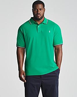 Polo Ralph Lauren Billiards Short Sleeve Tipped Collar Polo