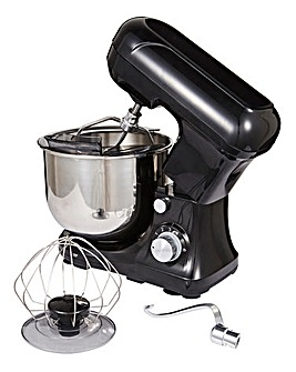 4.5L Black Low Noise Stand Mixer