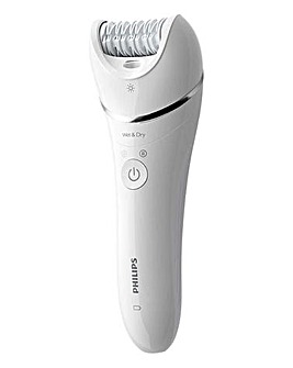 Philips BRE710/01 Series 8000 Wet and Dry Epilator