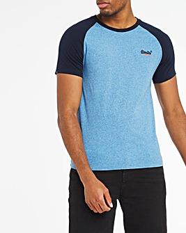 Superdry Original Label Baseball T-Shirt