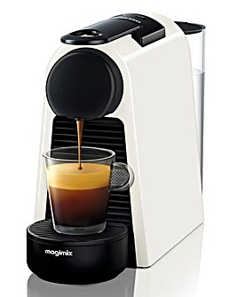 Nespresso Essenza White Capsule Coffee Machine by Magimix