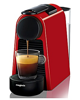 Nespresso Essenza Red Capsule Coffee Machine by Magimix