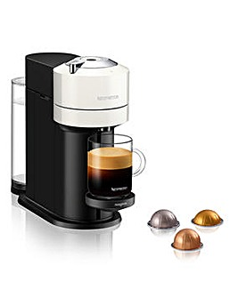 Nespresso Vertuo Next White Capsule Coffee Machine by Magimix
