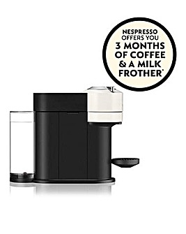 FREE GIFT! Nespresso by Magimix Vertuo Next White Capsule Coffee Machine